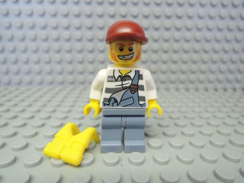 Rettungsweste cty283 4440 4438 4205 Lego Figur City Polizei Gefangener cty265