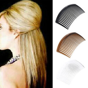 10PCS Handmade Comb Tooth Plastic Headwear Hair Combs Women