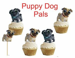 Puppy Dog Pals Cupcake Cakepop Toppers Cupcake Decors Cupcake Picks