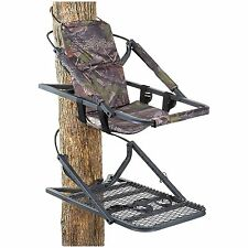 Deluxe Climbing Tree Stand Climber Hunting Treestand Steel Frame NEW