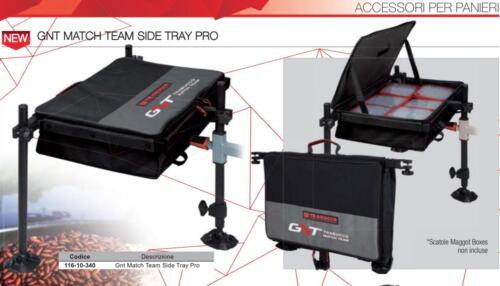 11610340 Accessori Panieri Trabucco Gnt Side Tray Pro Pesca Feeder Colpo    PP