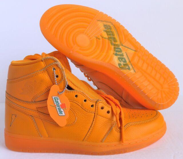5a472f27730420 Air Jordan 1 Retro Hi OG Aj5997-880 G8rd Gatorade Orange Size 8 for ...