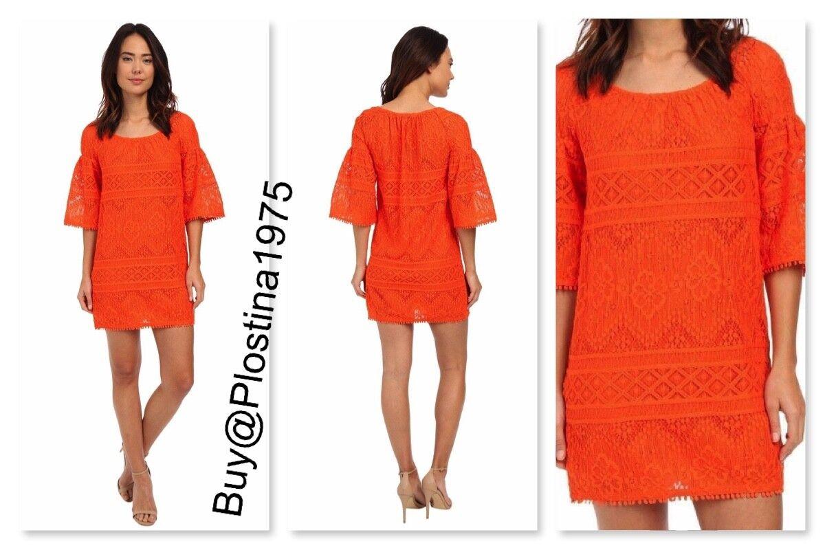 Nuevo Vestido de   428 Trina Turk Lev Color  Pep [tamaño  4]  B76  tienda de venta