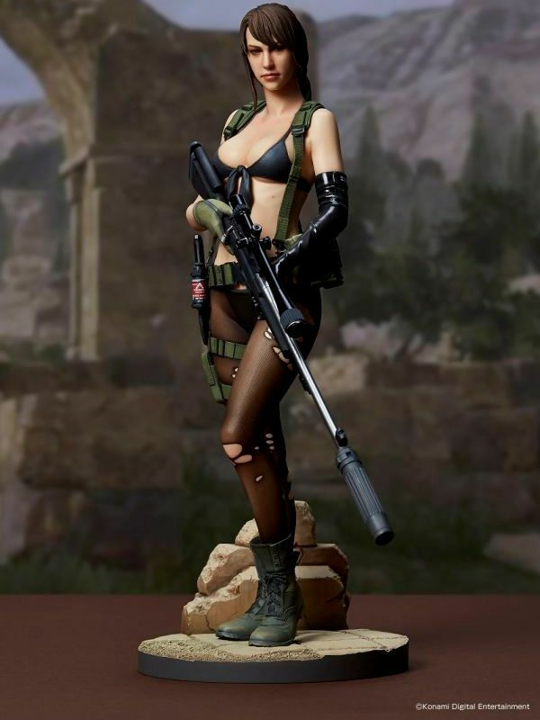 FIGURA QUIET 30 CM METAL GEAR V SÓLIDO 5 EL FANTASMA  NO PAIN...  1 6 STATUE