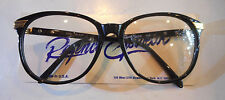 Vintage Regency Eyewear by Tart Optical UX-9 Black 57/17 Eyeglass Frame NOS