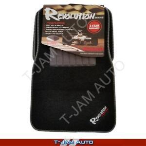 Revolution-Monarco-Black-Carpet-Car-Floor-Mats-Nissan-Patrol-4WD