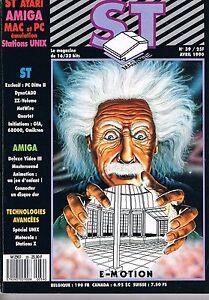 St Magazine N°39 Avr 1990 : E-motion Blanc Pur Et Translucide