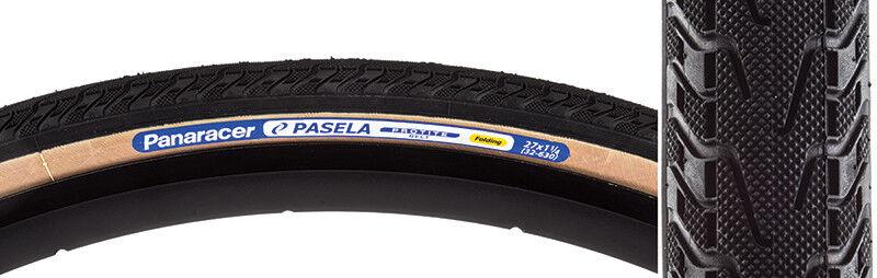 Panaracer Pasela Prossoite Tire Padella 27x1-1 4 Pieghevoli Nero Nero Nero   Sk d397e4