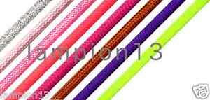 Top EU Qualität 2x0,75 und 3x0,75 Premium Textilkabel Stoffkabel Apfelgrün