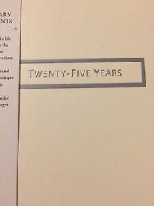 Hallmark-25th-Anniversary-Twenty-Five-Years-of-Marriage-Memory-Book-New