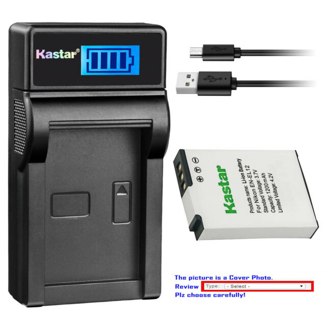 Kastar Battery LCD Dual Charger for Sony Camcorder CCD