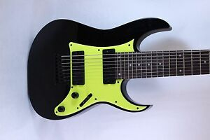 RG350 MDX Fluorescent Neon LNG Green RG HSH Guitar pickguard fits Ibanez tm