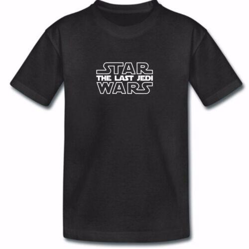 Kids le dernier jedi t shirt-enfant star wars symbol logo t-shirt garçons filles