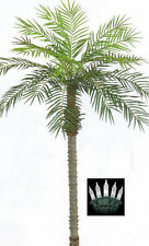 Item 3 7u0027 ARTIFICIAL PHOENIX PALM TREE U0026 CHRISTMAS LIGHTS DATE PATIO SAGO   7u0027 ARTIFICIAL PHOENIX PALM TREE U0026 CHRISTMAS LIGHTS DATE PATIO SAGO