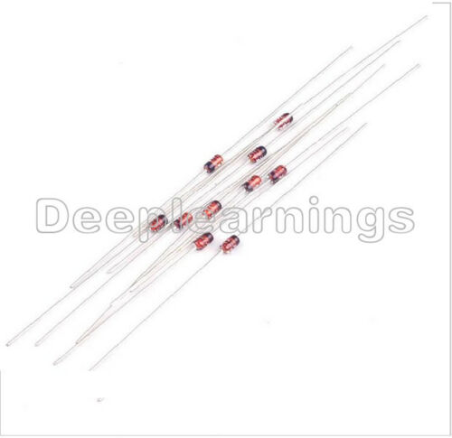100PCS 1N4148 IN4148 LL4148 DO-35 switching signal Doides NEW