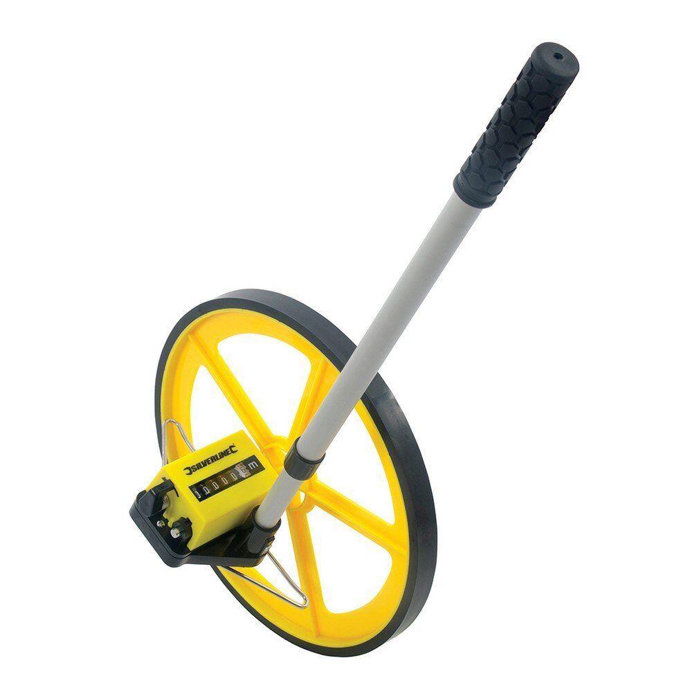 Silverline 250582 Digital Measuring Wheel 0-99,999.9m
