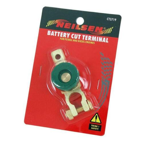 Battery Isolater Cut Off Terminal Disconnect Secure Switch for Car Van Boat etc