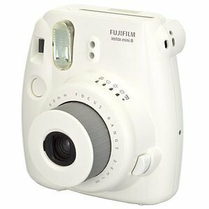 Fuji Instax Mini 8 Camera - White
