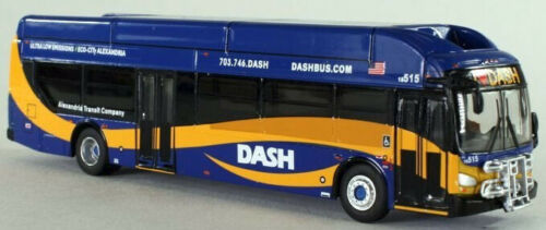 Dash-New-Flyer-Excelsior-bus-1-87-Scale-HO-Scale-Iconic-Replicas-Rare-NIB