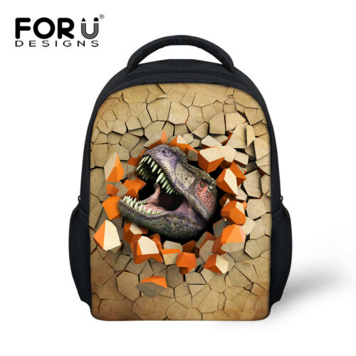 Cool Dinosaur School Bags Backpack For Boy's Kids Kindergarten Shoulder Bags