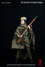 "Very Cool Toys 1/6 Scale 12"" Soviet Russian Female Sniper Action Figure VCF-2025"