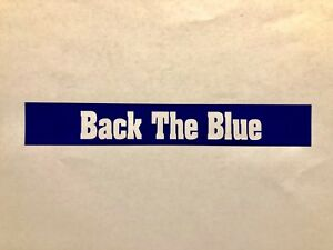 Back-The-Blue-Vinyl-Decal-Police-support