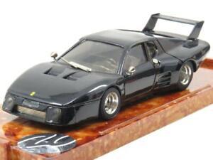 Brumm-Diecast-Ferrari-512-BB-1980-Negro-Edicion-Limitada-1-escala-43-En-Caja