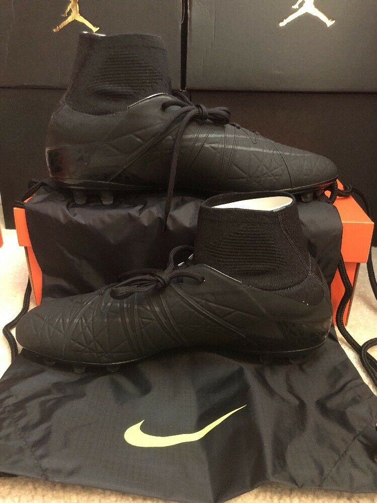 Nike Nike Nike hypervenom phantom 2 fg schwarz-schwarz-volt sz 12 schwarzout!747213-007 fußball 527a8e