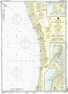 Chart South Haven to Stony Lake;South Haven;Port Sheldon;Saugat<wbr/>uck Harbor