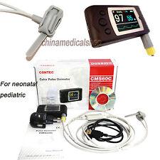 Neonatal Infant pediatric New Born Pulse Oximeter oxygen Spo2 PR USB PC software