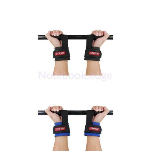 1 Pair Gym Weight Lifting Training Straps Hand Bar Wrap Wrist Support Protection