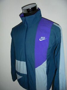 Details zu vintage 90`s NIKE Nylon Jacke Sportjacke jacket 90er oldschool jacket S (M)