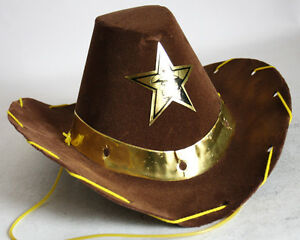 AMAZING RARE VINTAGE 80'S COWBOY HAT HALLOWEEN CARNIVAL GREECE GREEK NEW NOS !
