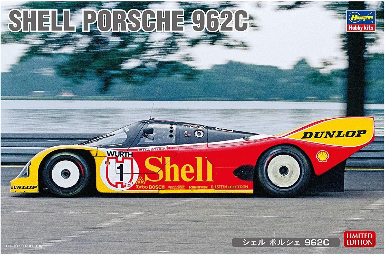 HASEGAWA Shell Porsche 962C 1 24 Plastic model