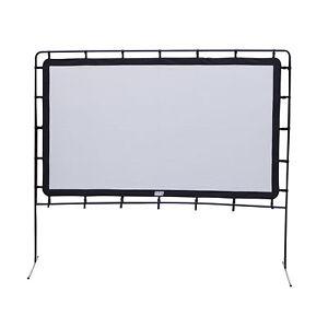 "Camp Chef 92"" Lite Giant Indoor or Outdoor Nylon Backyard Movie Projector Screen"