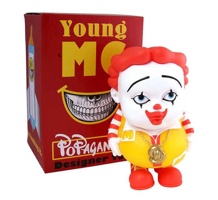 Ron English Young MC Figure
