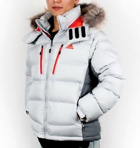 Adidas Men Arctic Goose Down Jacket Winter White Coats Paaded