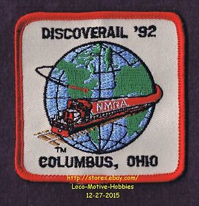 LMH PATCH 1992 DISCOVERAIL Convention NMRA National MODEL ...