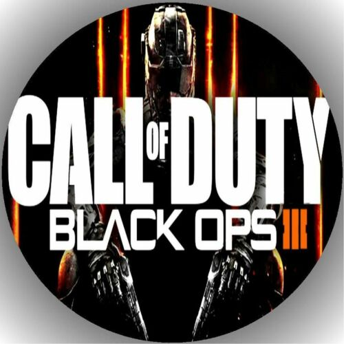 Oblate Call of Duty  P7 Tortenaufleger Geburtstag Party Tortenbild Fondant