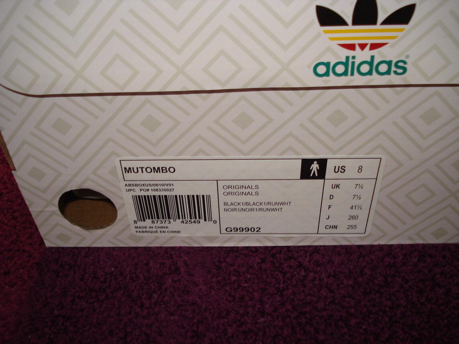 check out 6ebb5 ba56a Uomo adidas originale mutumbo dikembe 55 retr g99902 8 8 8 miglior prezzo  su ebay 69ac28