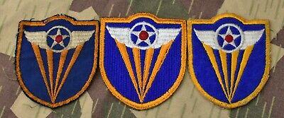PRIVATE PVT PATCH RANK LOT TWILL WW2 US ARMY SSI CHEVRON WWII ORIGINAL AAF