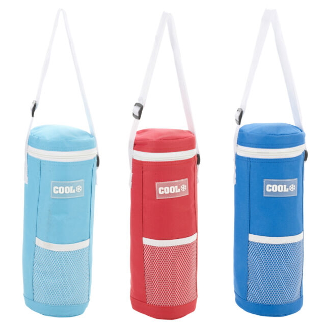1.5L Foil Insulated Water Drink Bottle Ice Cool Cooler Bag Cover Walking Hiking