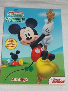 Image Is Loading Disney Junior Mickey Mouse Clubhouse Coloring Book 144