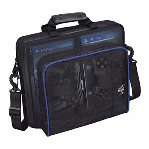 For PS4 Console Quality Case Travel Protective Padded Carry Bag Shoulder Strap