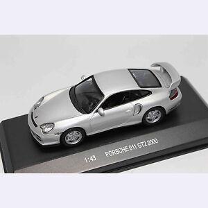 1-43-Car-Model-80024-PORSCHE-911-GT2-2000-SILVER