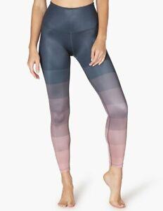 #87TP Beyond Yoga Lux Print High Waisted Midi Leggings