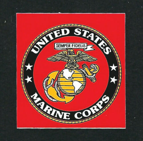 US MARINE LOGO STICKER DECAL ZAP MARINES USMC EGA PIN UP VET SEAL CAR WINDOW