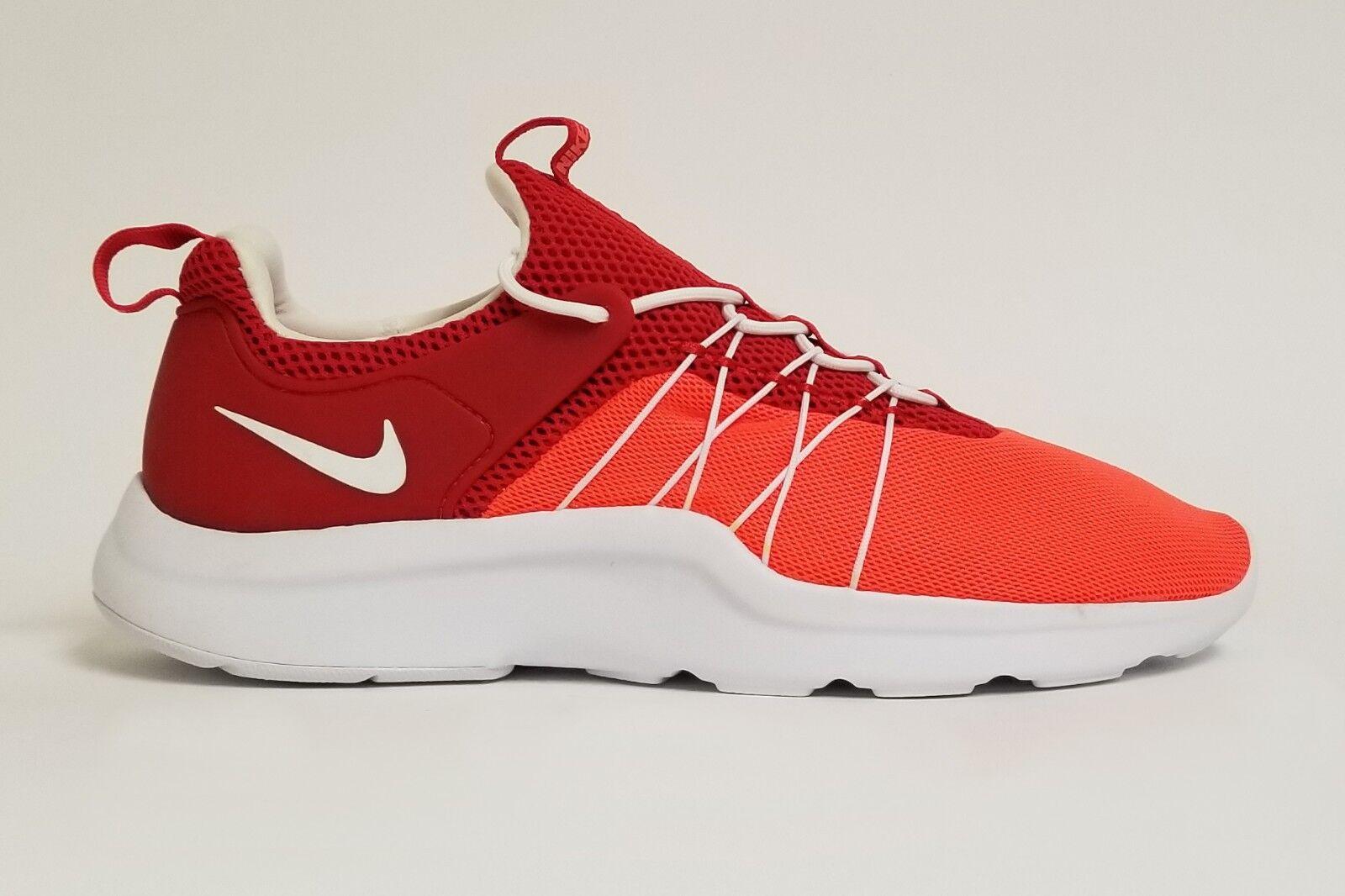 Nike Men's DARWIN Running Shoes Crimson/White/Red 819803-816 a Size 9.5 / 10