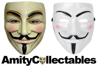 Carnival MaskFancy Dress V for Vendetta Halloween ANONYMOUS // GUY FAWKES