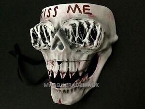 image is loading the purge god cross kiss me anarchy movie - Purge Anarchy Masks For Halloween